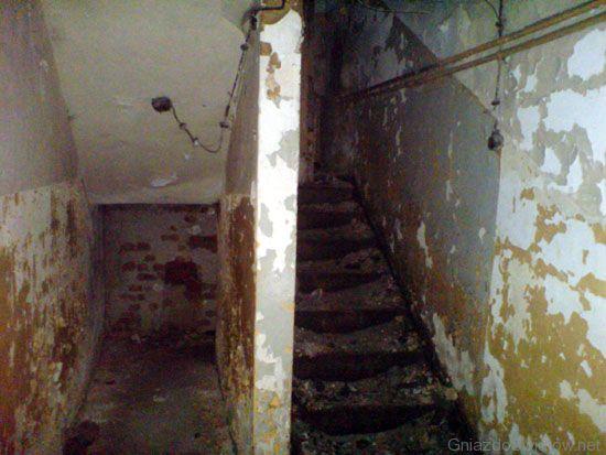 Piwnice szpitala / Fot.Jaras