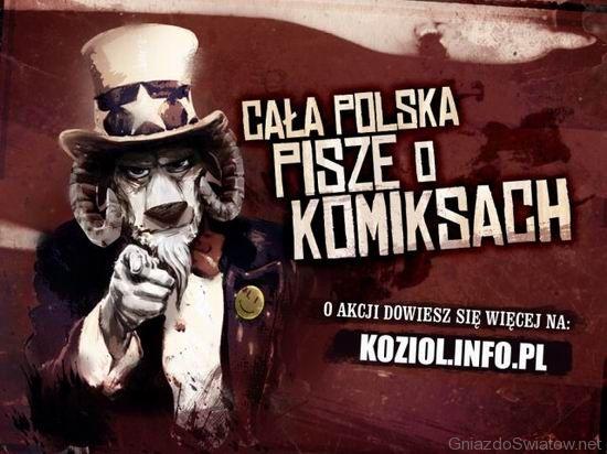 Cała Polska pisze o komiksach