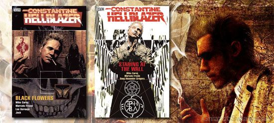 Hellblazer - Black Flowers / Staring at the wall