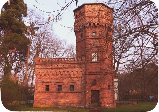 Wieża ciśnień, Konstancin
