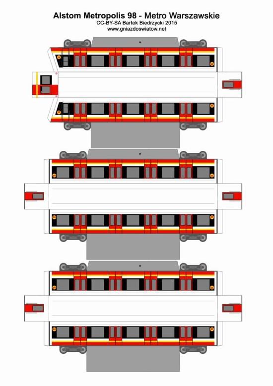 Alstom Metropolis 98B