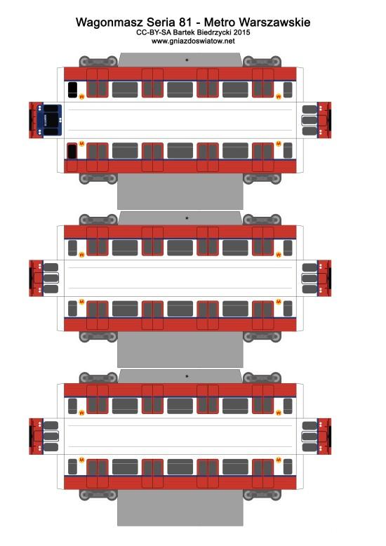 Wagonmasz seria 81 Metro Warszawskie