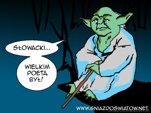 Yoda mówi o literaturze