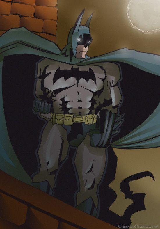 Batman / DC Comics / szkic Bartek Biedrzycki, tusz i kolor Arek Hinc