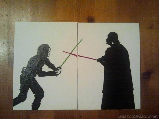 Ojciec i syn - wykończenia