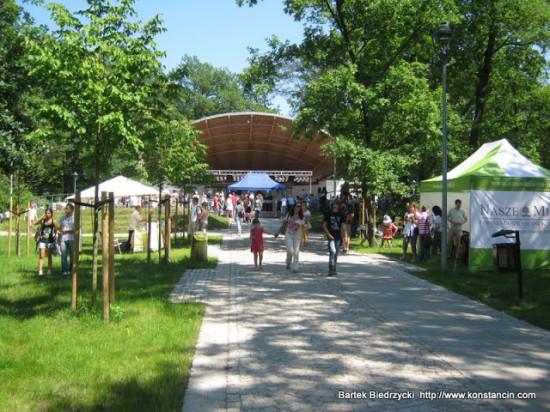 Obchody Dni Konstancina w Parku Zdrojowym, Konstancin-Jeziorna