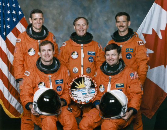 The crew of STS-74 , credit: NASA Marshall Space Flight Center